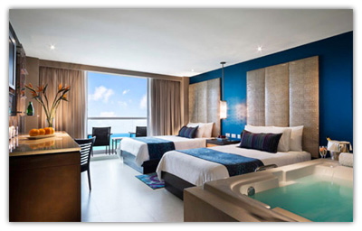 Deluxe Platinum - Ocean View, Two Double Beds